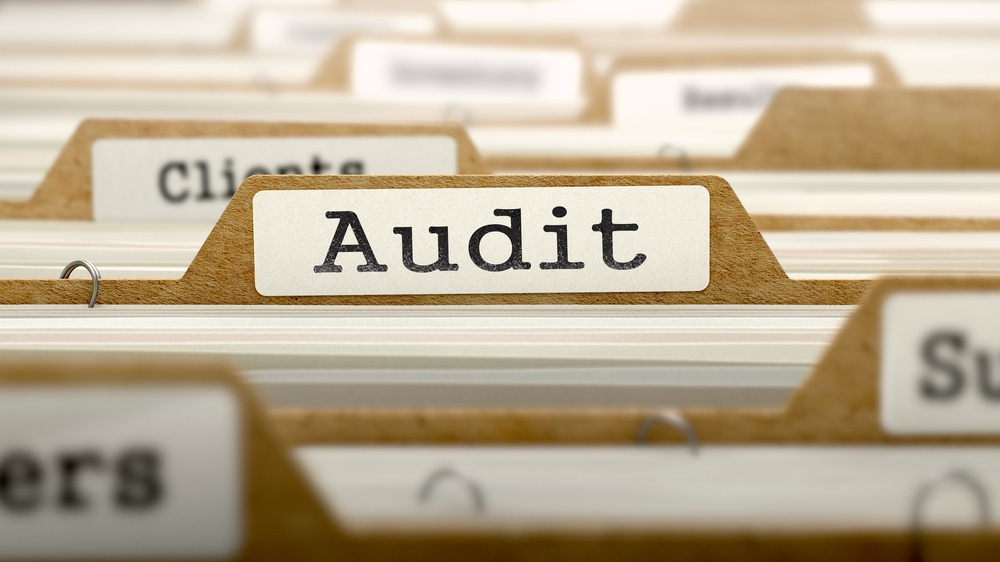 keep at least one folder for your first financial audit